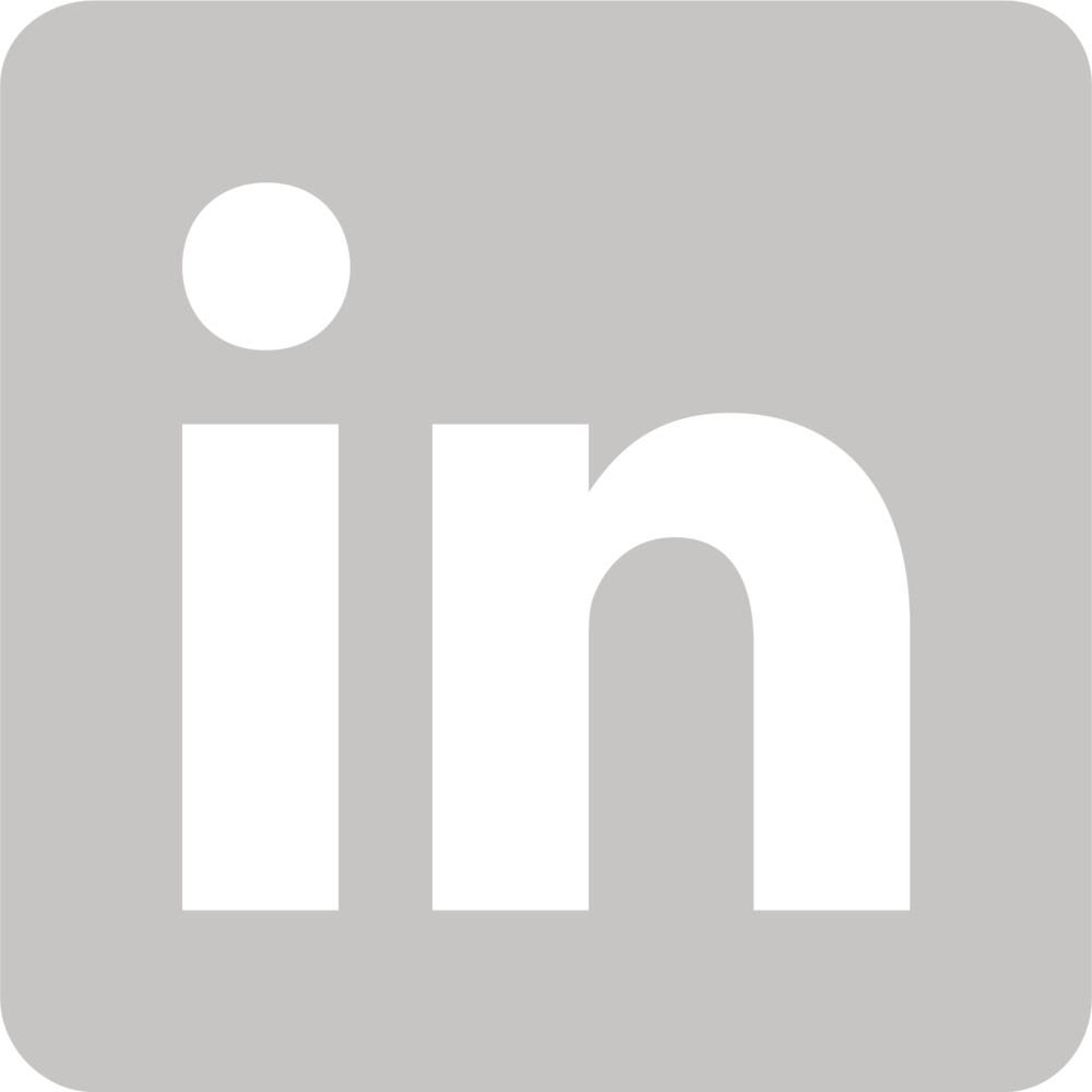 Image result for linkedin icon white